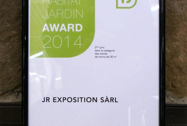 Award Habitat Jardin